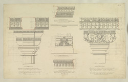 Plate 5. Architectural details from temple of Nilkanth